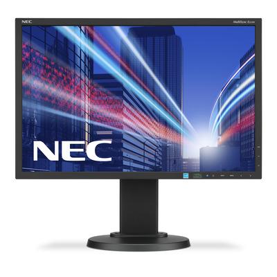 NEC MultiSync E223W Monitor - Zwart