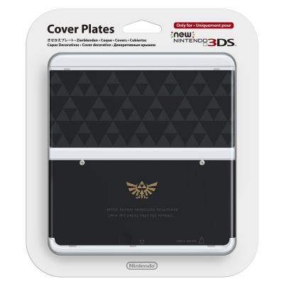 Nintendo portable game console case: New 3DS Cover 024 - Zwart