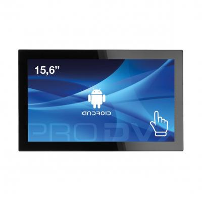 """Prodvx all-in-one pc: APPC-15DSQ 15"""" Android Tablet PC 15.6"""" Quad Core 1920 x 1080 IPS - Zwart"""