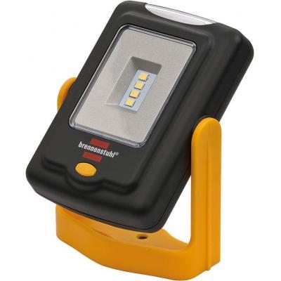 Brennenstuhl : 7xLED, 6500 K, 200 lm, IP20, 63x36x98mm, 69g, Black/Yellow - Zwart, Geel