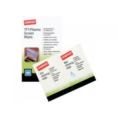 Staples schoonmaakmiddel: Reinigingsdoek SPLS TFT/LCD 3178866/ds10