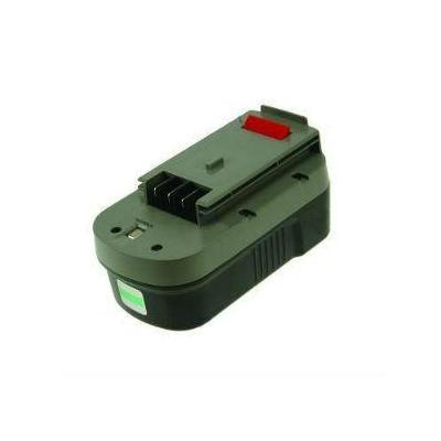 2-power batterij: PTH0077A- NiMH, 18V, 3000mAh, 1055g, black/green - Zwart, Groen