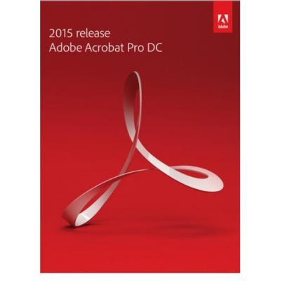 Adobe desktop publishing: Acrobat Pro DC, renewal