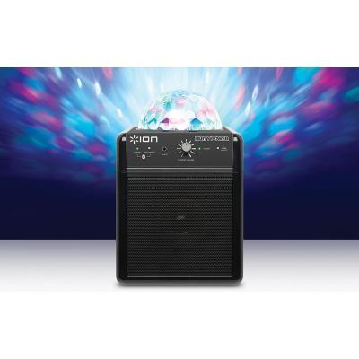 Ion Speaker: Wireless Speaker System with Party Lights - Zwart