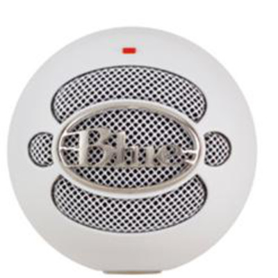 Blue microphones microfoon: Snowball - Wit