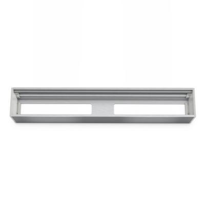 Kindermann : Module Panel for 6 Plates, empty - Aluminium
