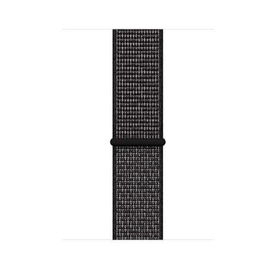 Apple 44mm Black Nike Sport Loop
