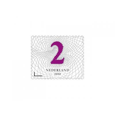 Postnl briefpapier: Postzegel NL waarde 2 zelfkl/rol100