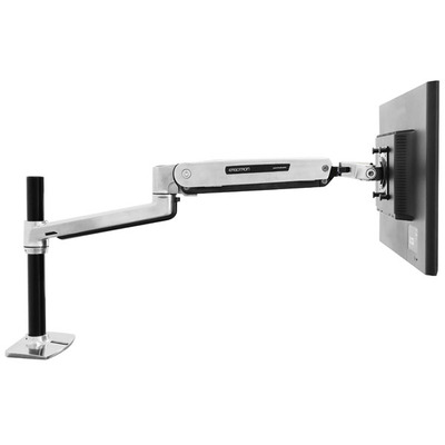Ergotron LX Series Sit-Stand Desk Mount LCD Arm Monitorarm - Metallic