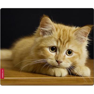 Speed-Link SILK Mousepad, Baby Cat muismat - Multi kleuren