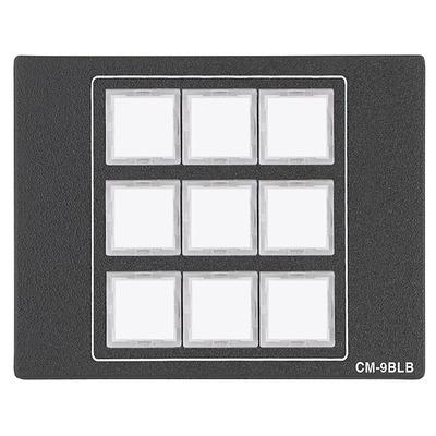 Extron CM-9BLB Drukknop-panel - Zwart