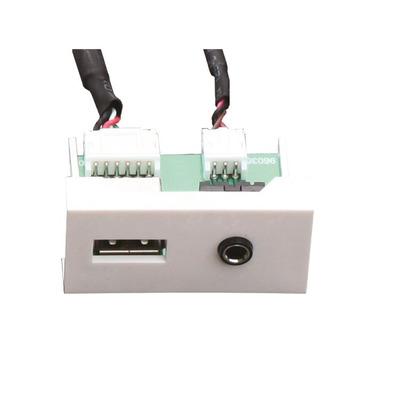 Garbot FA-2420-USB(A)-PHJ-F/F-PH-20CM Wandcontactdoos