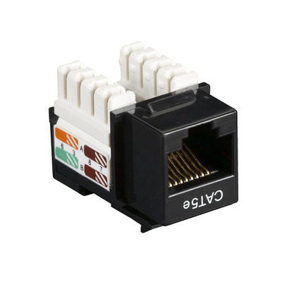 Black Box CAT5EJ-BK-25PAK Keystonemodules