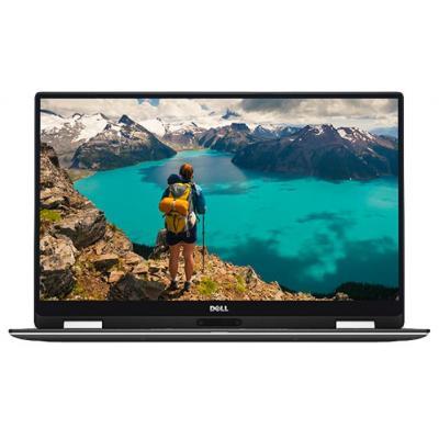 Dell laptop: XPS 9365 Convert - Core i5 - 8GB RAM - 256GB SSD - QHD - Touch screen - Zwart, Zilver