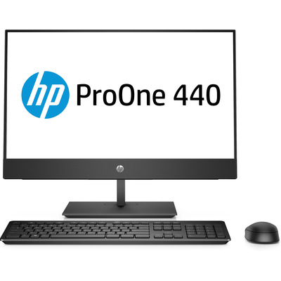 HP ProOne 440 G4 All-in-one pc - Zwart