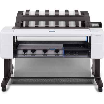 HP Designjet T1600dr Grootformaat printer - Cyaan, Grijs, Magenta, Mat Zwart, Foto zwart, Geel