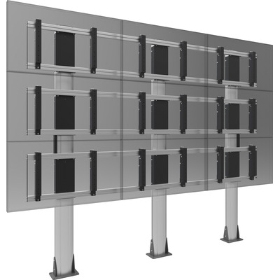 SmartMetals 2x2, 46 '', VESA, aluminium, grijs TV standaard
