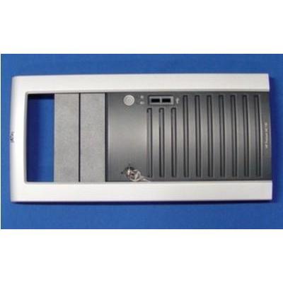 Hp Computerkast onderdeel: Front Bezel for ML150 G3 - Zwart, Zilver