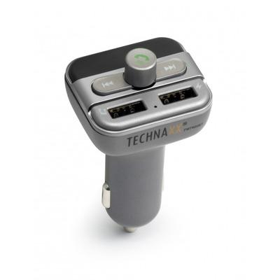 Technaxx FMT900BT - Zwart, Grafiet