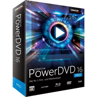 Cyberlink videosoftware: PowerDVD 16 Pro