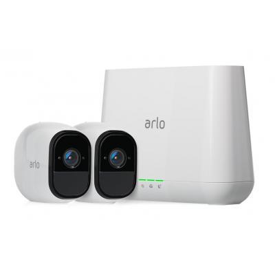 Arlo Pro met 2 camera's Beveiligingscamera - Wit