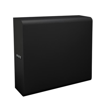 APart Extremely compact and slim in black Subwoofer