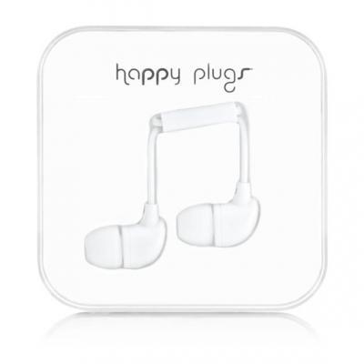 Happy plugs headset: In-Ear - Wit