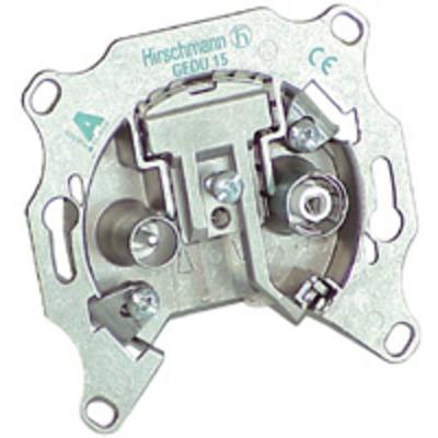 Hirschmann 695003007 kabeladapters/verloopstukjes