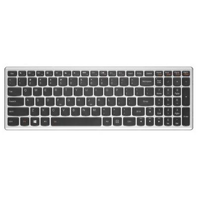 Lenovo notebook reserve-onderdeel: Keyboard for Ideapad Z710 - Zwart, Metallic