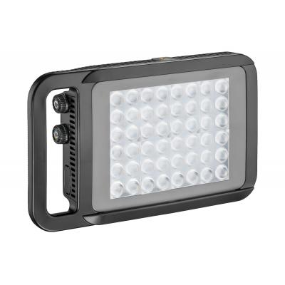 Manfrotto spot verlichting: 470g, Li-ion, Bluetooth, LED Light - Zwart