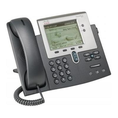 Cisco dect telefoon: Unified IP Phone 7942G - Grijs
