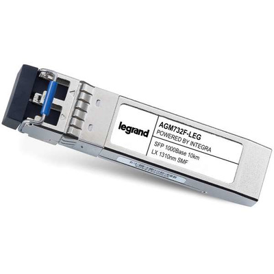 Legrand Netgear[R] AGM732F compatibele TAA-conforme 1000Base-LX SFP transceiver (SMF, 1310 nm, 10 km, LC) .....