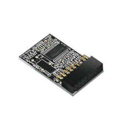 Asrock TPM-s Interfaceadapter - Zwart