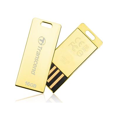 Transcend JetFlash elite T3G 8GB USB flash drive - Goud