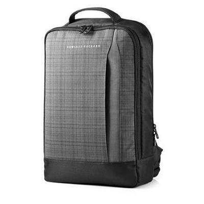 Hp rugzak: Slim Ultrabook Backpack, 15.6''  - Zwart, Grijs