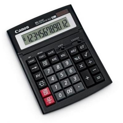 Canon calculator: WS-1210T - Zwart