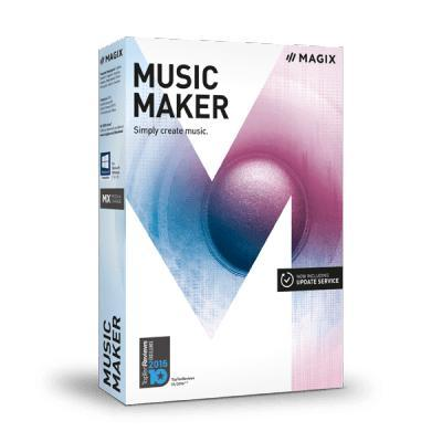 Magix audio software: Music Maker 2017