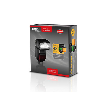 Hahnel camera flitser: MODUS 600RT - Zwart