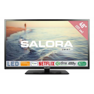 """Salora : 5000 series Een 48"""" (122CM) Full HD SMART LED TV met Netflix, 100Hz bpr en USB mediaspeler - Zwart"""