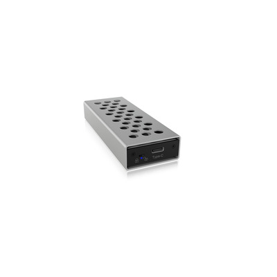 ICY BOX IB-1825M-C31 Behuizing - Aluminium, Zwart