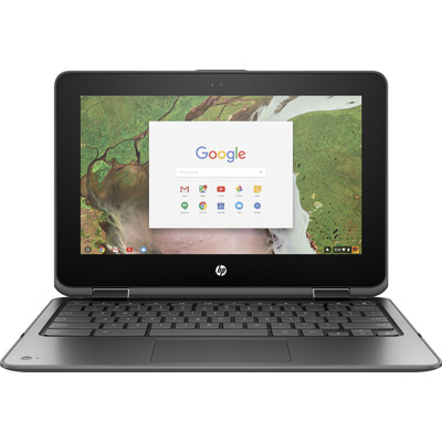Hp laptop: Chromebook x360 Chromebook x360 11 G1 EE - Zilver (Demo model)
