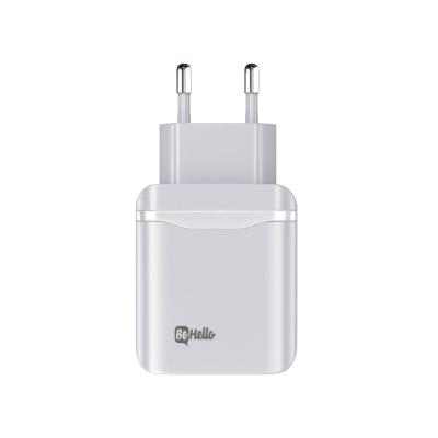 BeHello Travel Charger Type C PD 30W White Oplader - Wit