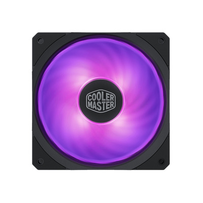 Cooler Master MasterFan SF120R RGB Hardware koeling - Zwart