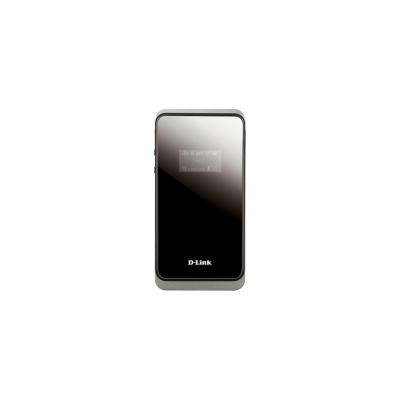 D-link UMTS: Draagbare HSPA+ 21 Mbps Router - Zwart, Wit