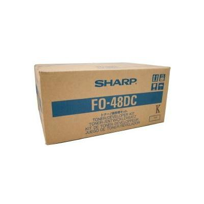 Sharp Toner/Developer Pages 15000 Toner - Zwart