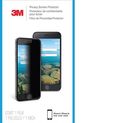 3m screen protector: Privacyscreenprotector voor Apple iPhone 6/6S/7 staand - Transparant
