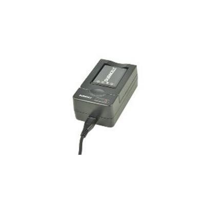 Duracell oplader: USB, 5V, Replacement f/ Panasonic CGA-S301/Samsung SLB-083 - Zwart