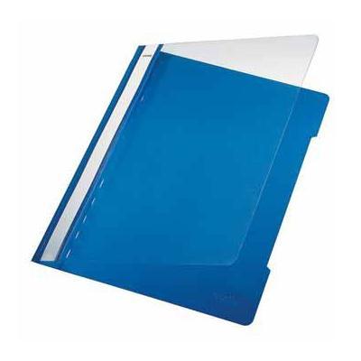 Leitz map: Snelhechtmap blauw, ft A5, doos van 25 stuks