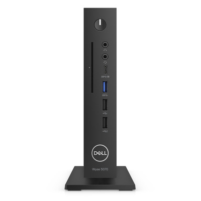 Dell Wyse 5070 Thin client - Zwart