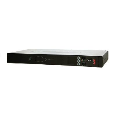 APC Automatic Transfer Switch, IEC 309 16A, 3680W, Rack mountable - Zwart